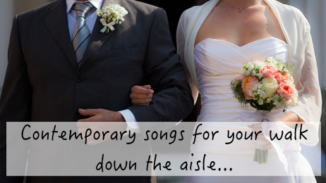 contemporary wedding processional songs