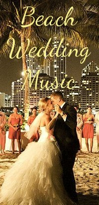 beach weddng music