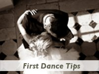First dance tips