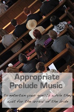 Wedding Prelude Music
