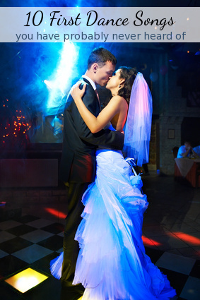 10 Wedding First Dance Songs